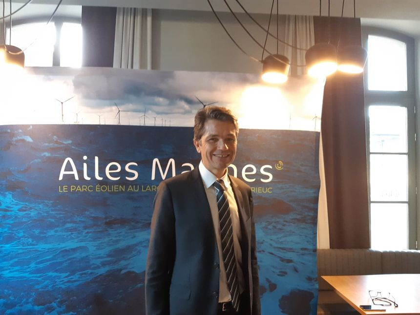 Emmanuel Rollin, directeur du consortium Ailes Marines