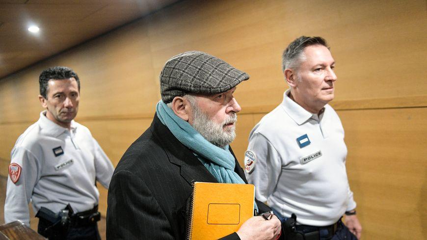 Bernard Preynat, au tribunal de Lyon