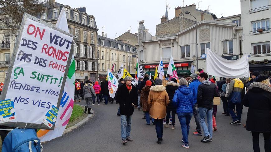 7e journée de mobilisation nationale contre la réforme des retraites à Reims