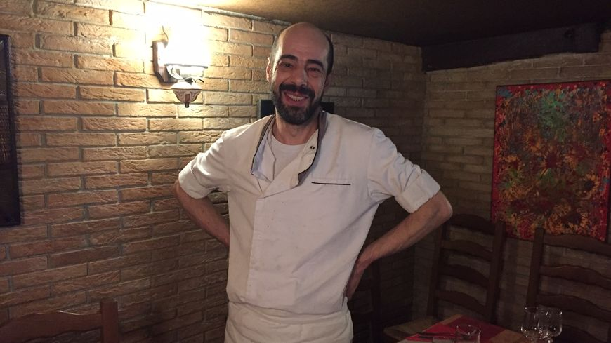 Eric Gaugry  le Chef du restaurant La Timbale .