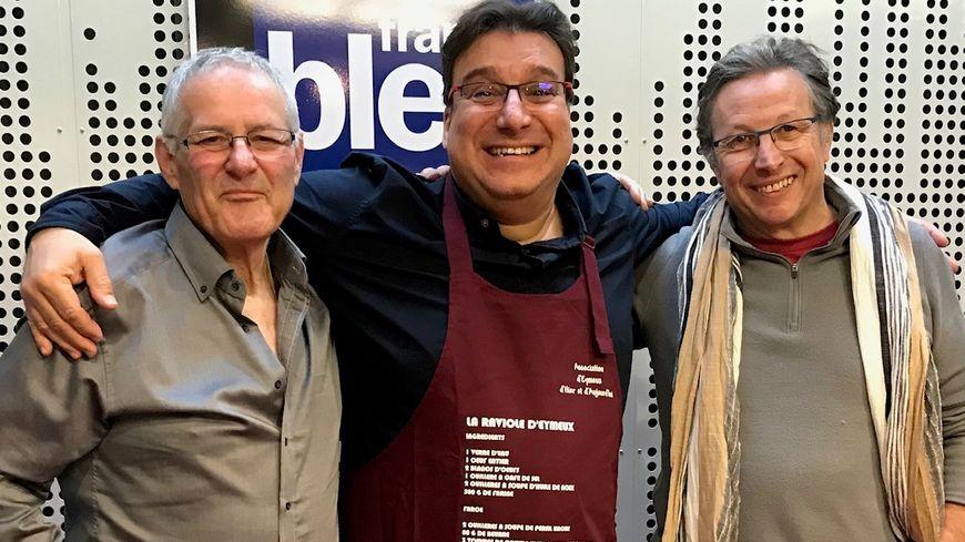 Thierry Pourtier et Alain Berne