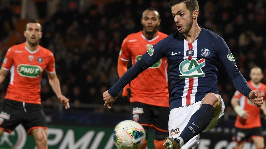 Pablo Sarabia, buteur face à Lorient en 16e de finale de Coupe de France