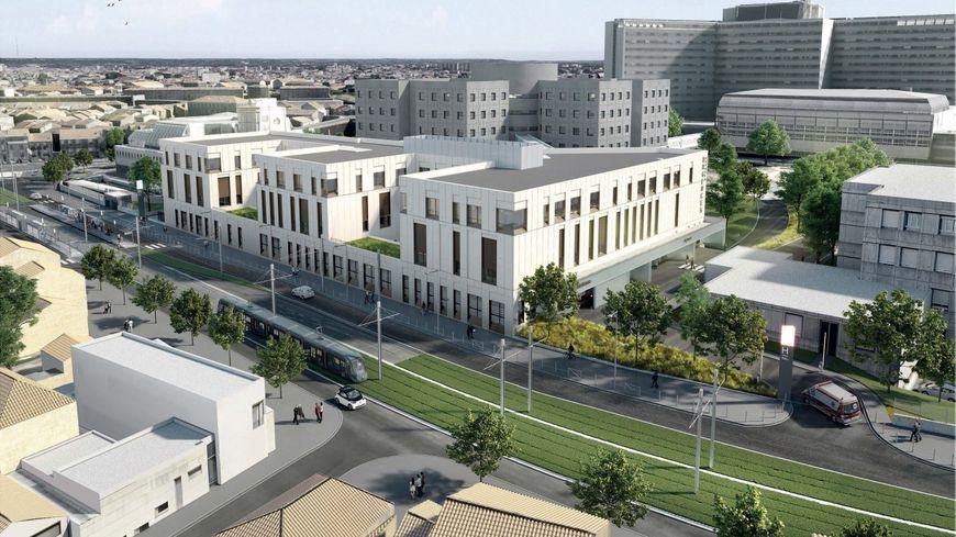 Dès le printemps 2021, l'hôpital pourra accueillir trois fois plus d'enfants aux urgences pédiatriques à Bordeaux.