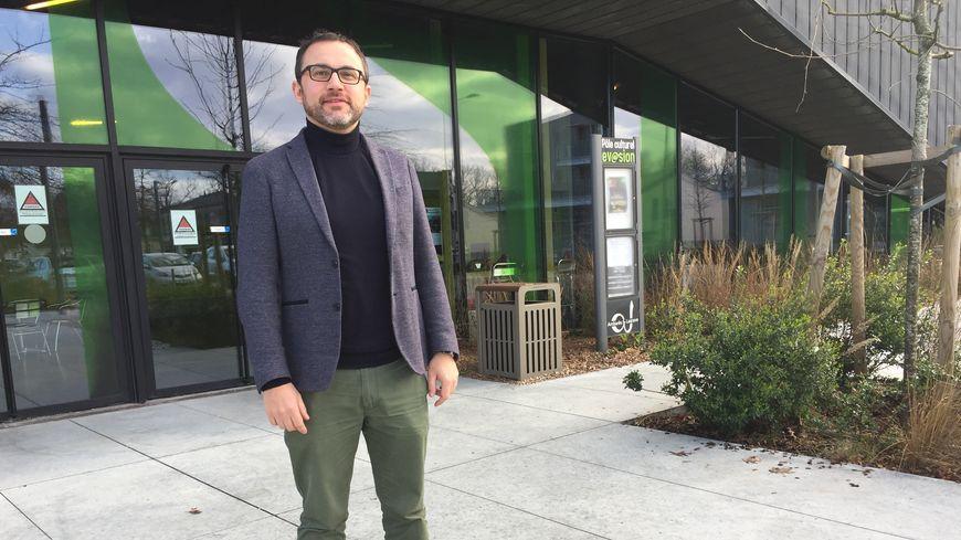 David Poulain est candidat aux municipales à Ambarès-et-Lagrave