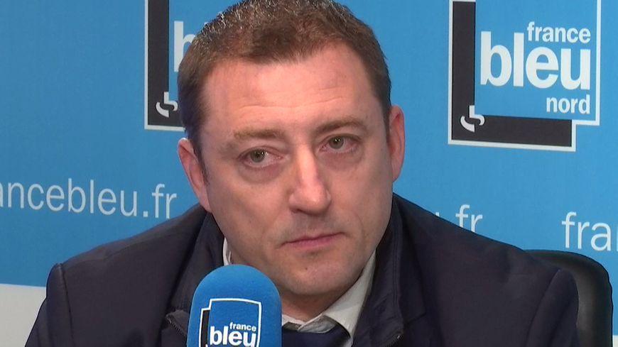 Arnaud Boutelier, secrétaire régional adjoint du syndicat Alliance Police Nationale