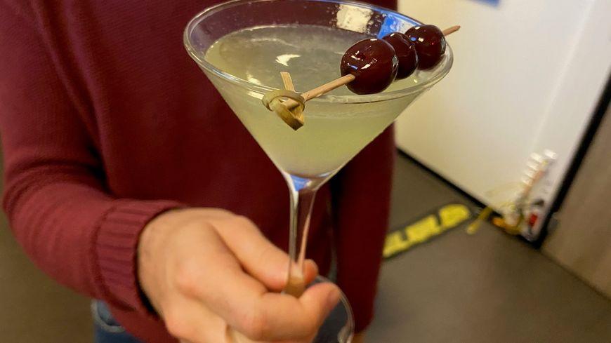 Cocktail Last word à base de chartreuse