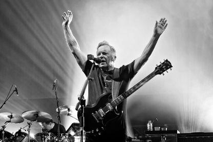 New Order en concert au Tempodrom à Berlin (octobre 2019)