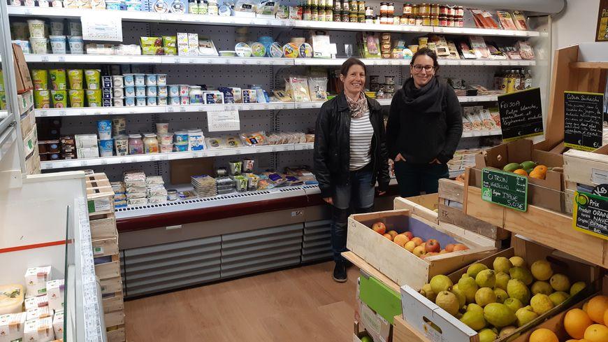 """Le magasin de producteurs """"Gaya"""" au Blanc, ne propose que des produits Bio"""