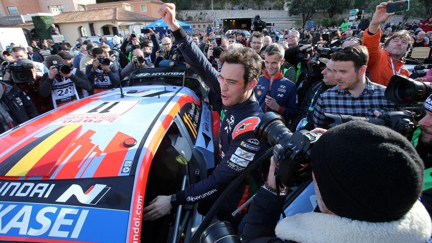Le Belge Thierry Neuville remporte ce dimanche son premier rallye Monte Carlo
