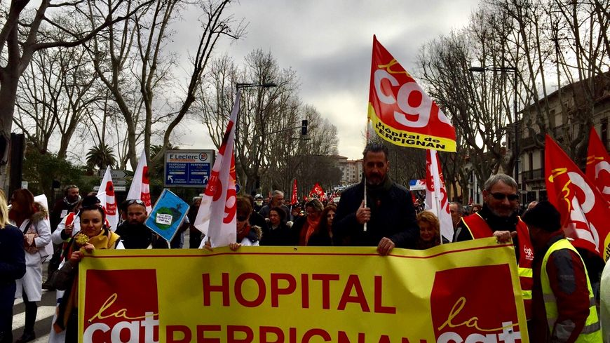La mobilisation reste forte dans les Pyrénées Orientales