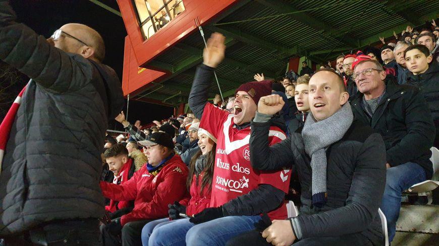 Le stade Diochon affichait complet  et les supporters étaient au rendez-vous ce dimanche 19 janvier 2020.