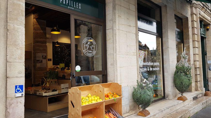 L'épicerie papilles rue Vaillant à Dijon