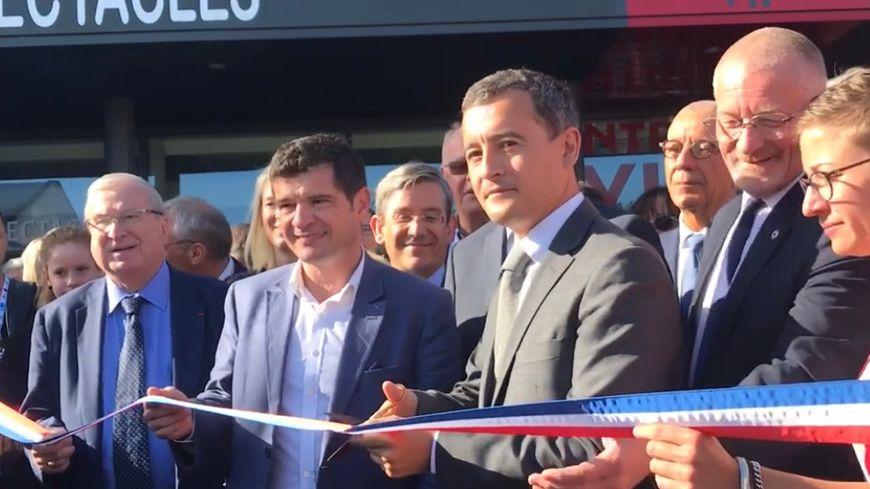 Lors de l'inauguration de la foire de Châlons en Août 2019
