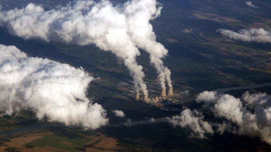 Centrale nucléaire de Dampierre-en-Burly (Loiret), en 2014
