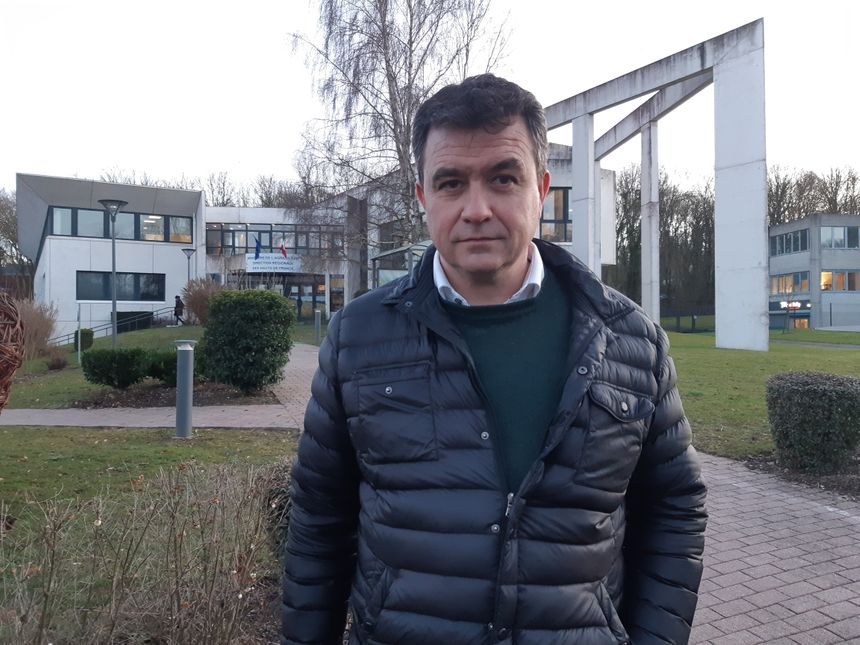 Laurent Degenne, le président de la Fédération Régionale des Syndicats d'Exploitants Agricoles des Hauts-de-France