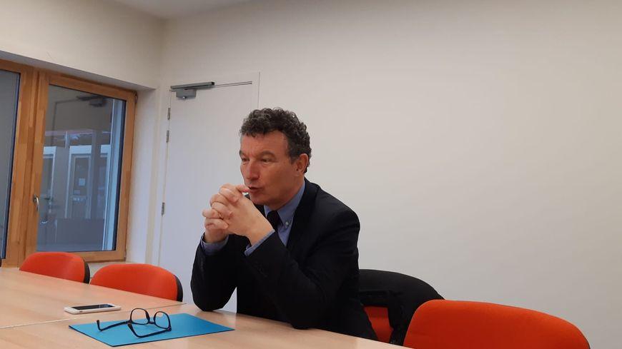 Franck Leroy est candidat à sa réélection à la mairie d'Epernay en mars prochain