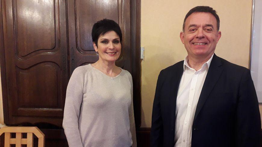 Patricia Darré et Bruno Villatte ont décidé de s'unir pour les municipales à La Châtre