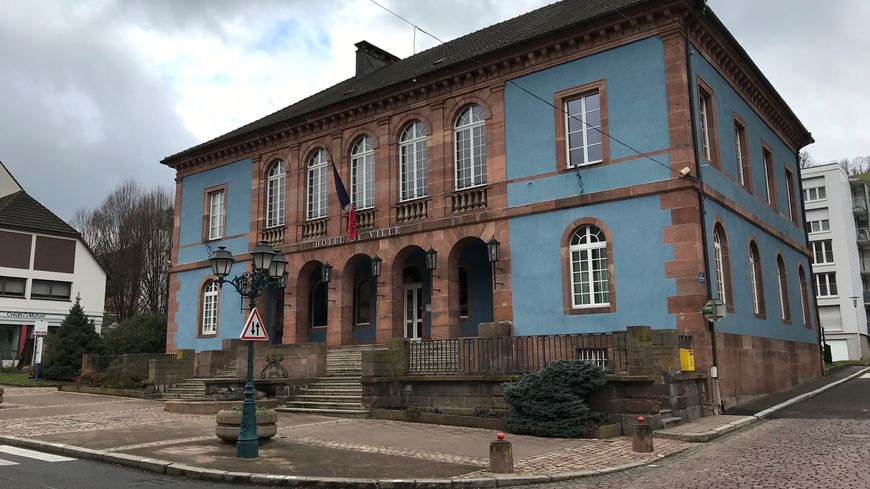 La mairie de Sainte-Marie-aux-Mines