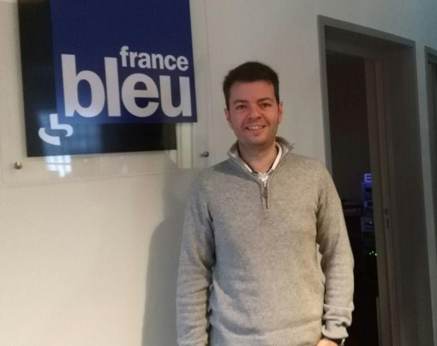 Maxime Viaut, ingénieur agricole, est à l'origine du site de méthanisation de Germigny