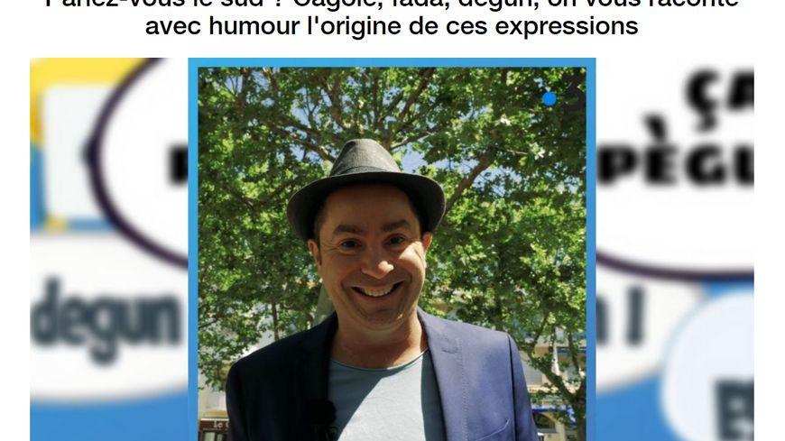 """Yves Pujol dans """"Parlez-vous le Sud ?"""" sur France 3 Provence-Alpes"""