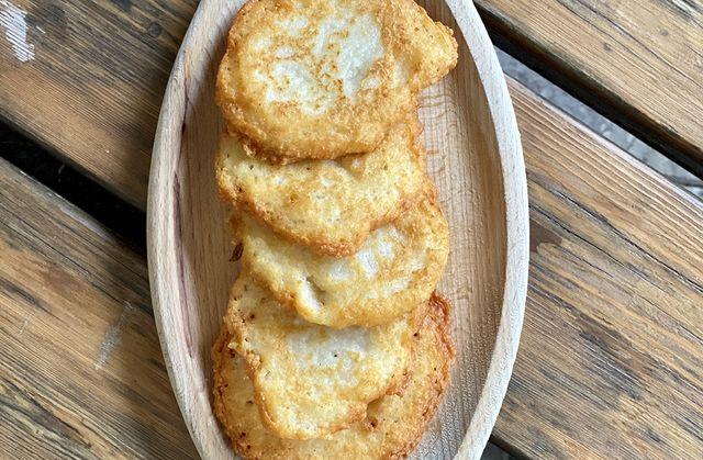 Tortel di patate de Mattia Sicher, hôtel Pineta à Val Di Non