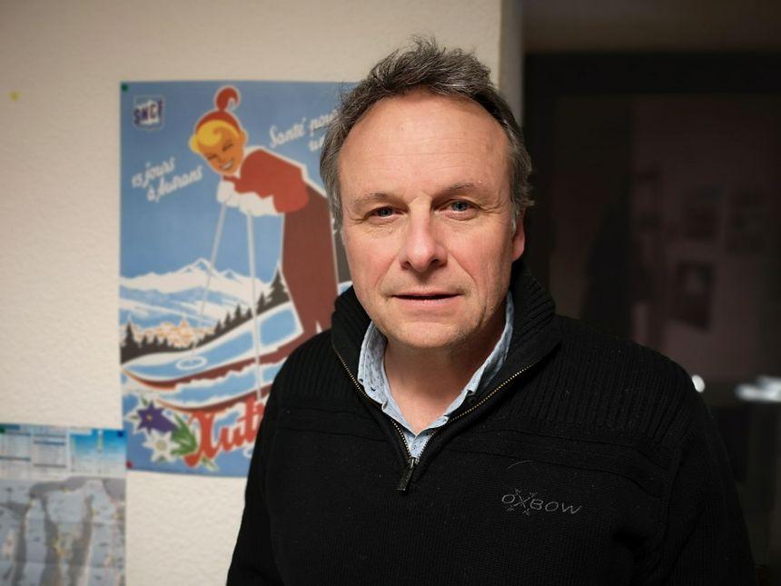 Christophe Lebel, directeur de l'office de tourisme intercommunal du Vercors