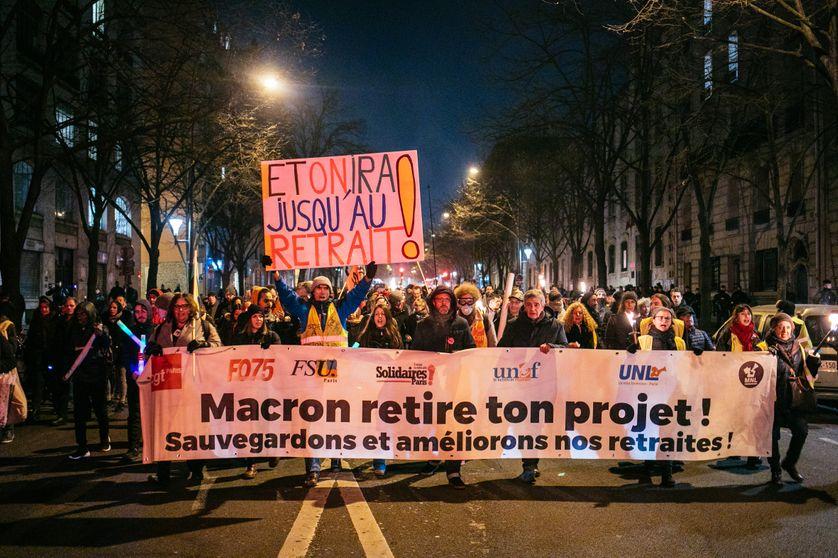 La réforme des retraites en Conseil des ministres, ses opposants de nouveau dans la rue