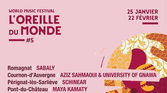 Festival l'Oreille du Monde - Affiche de la manifestation