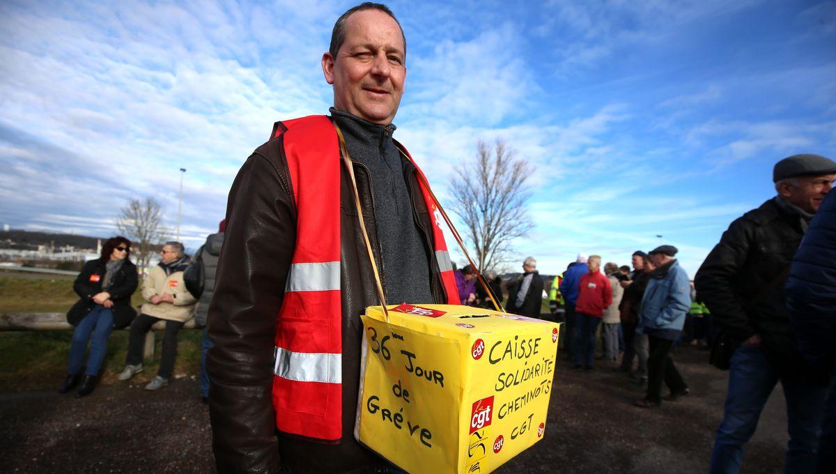 Grève retraites : 30 mille euros récoltés par la CGT Cheminots de Toulouse