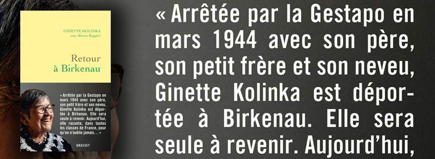 « Retour à Birkanau » de Ginette Kolinka