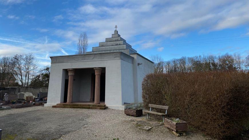 Spechbach, la chapelle néo-égyptienne