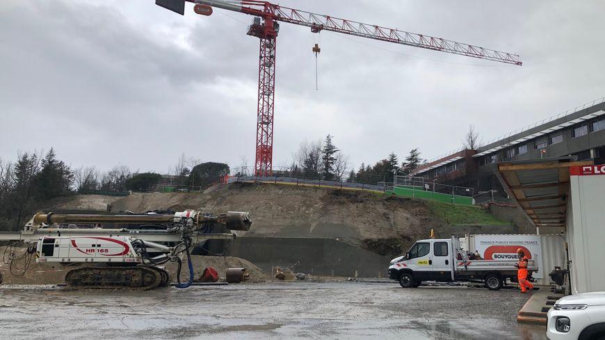 chantier à Toulouse