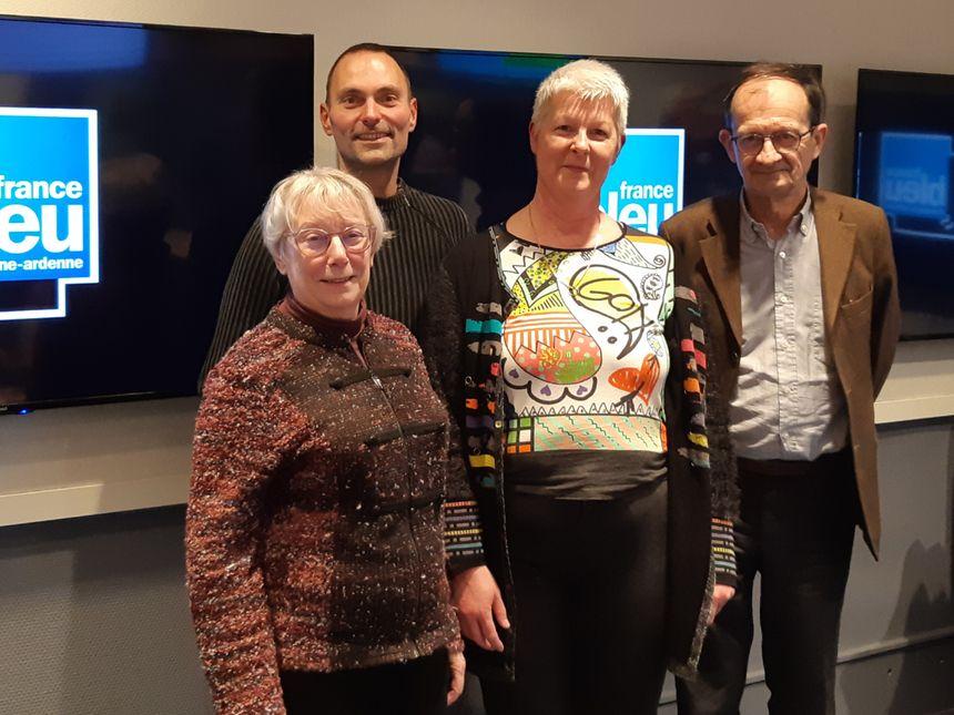 Des bénévoles de l'association JALMALV invités de C'est Mieux Ensemble sur France Bleu