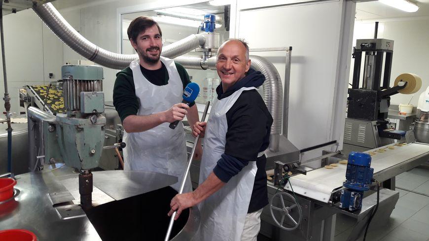 Vincent et Christian Gimbrede pour le Moulin Gourmand à Engomer (09)