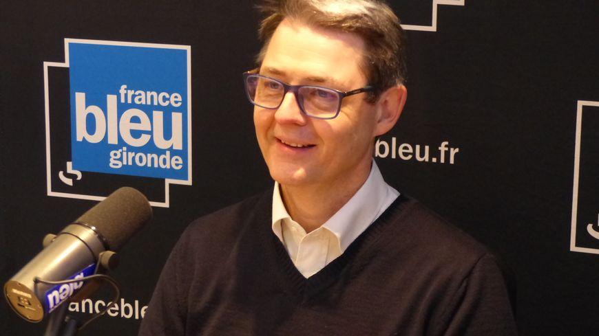 François Jamet, candidat LREM aux municipales à Bègles