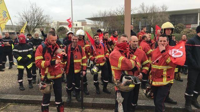 Les pompiers de Haute-Vienne ont financé leur déplacement à La Rochelle grâce à une cagnotte en ligne