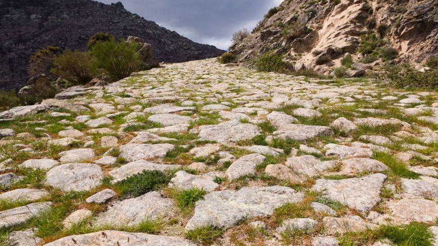une voie romaine