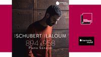 Sortie CD : Schubert : Sonates pour piano D. 894 & D. 958 - Adam Laloum