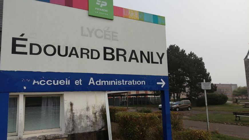 Le lycée Edouard Branly est l'un des établissements de la Cité Scolaire à Amiens