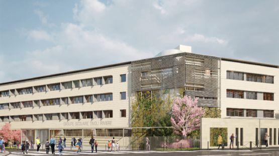 Futur groupe scolaire Tivoli/Rivière à Bordeaux