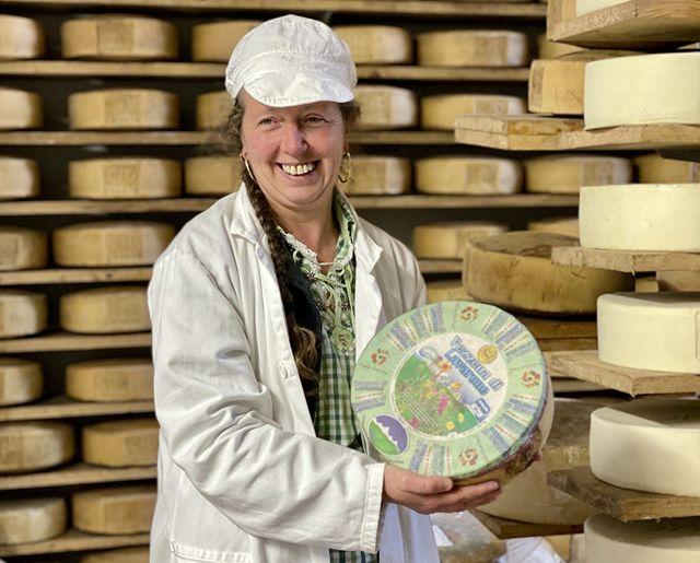 Marisa Corradi productrice de fromage Vezzena di Lavarone