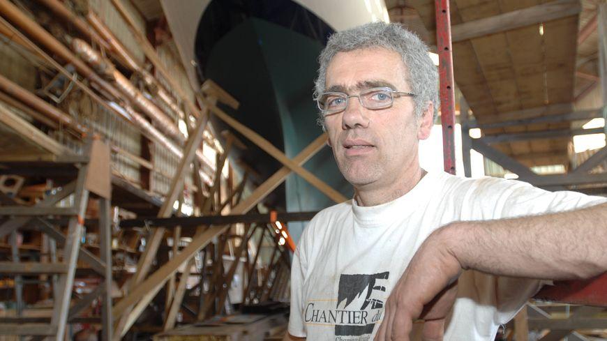 Yves Mauffret, le patron du Chantier du Guip