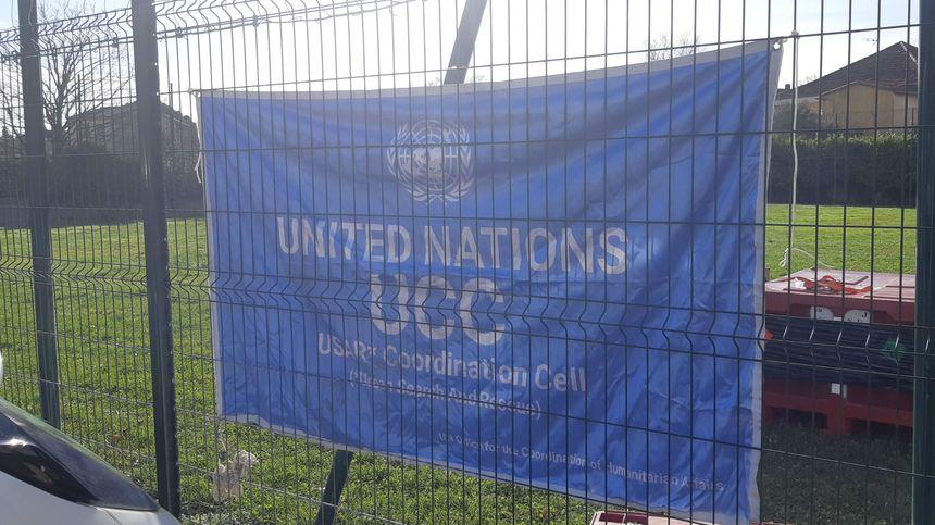 Cellule ONU de coordination des secours.
