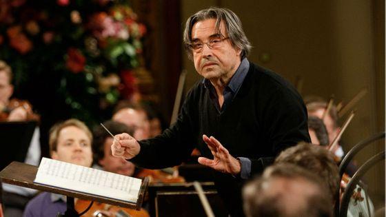 Riccardo Muti à Vienne en décembre 2017