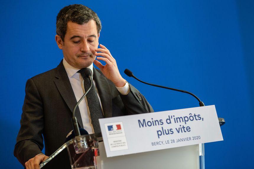 Gérald Darmanin, le ministre de l Action et des Comptes publics