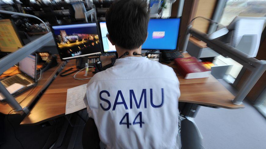 Dans les locaux du Samu à Nantes