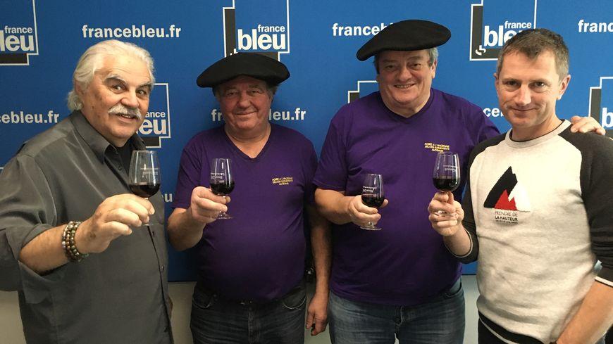 """Serge Papagalli, Alain Ruel, Gilles Chabert et Alain Salomon: la convivialité façon """"Tontons Caillettes"""""""