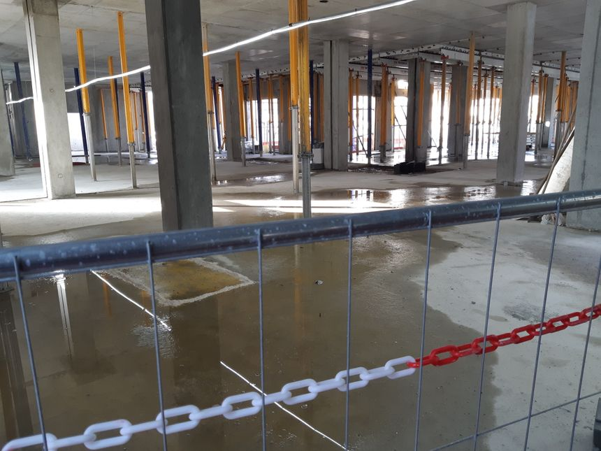 Les murs sont déjà là, reste désormais à finaliser tout l'aménagement intérieur avant l'ouverture au printemps 2021