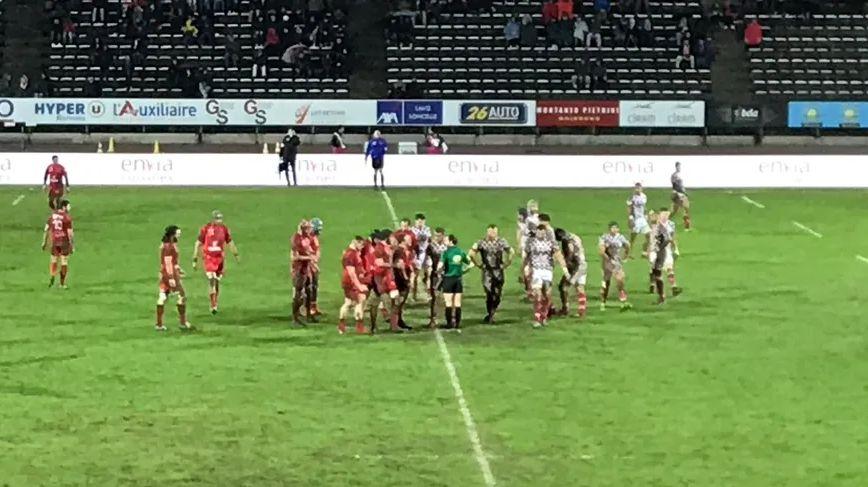 Le VRDR lors du match contre Rouen le 17 janvier.