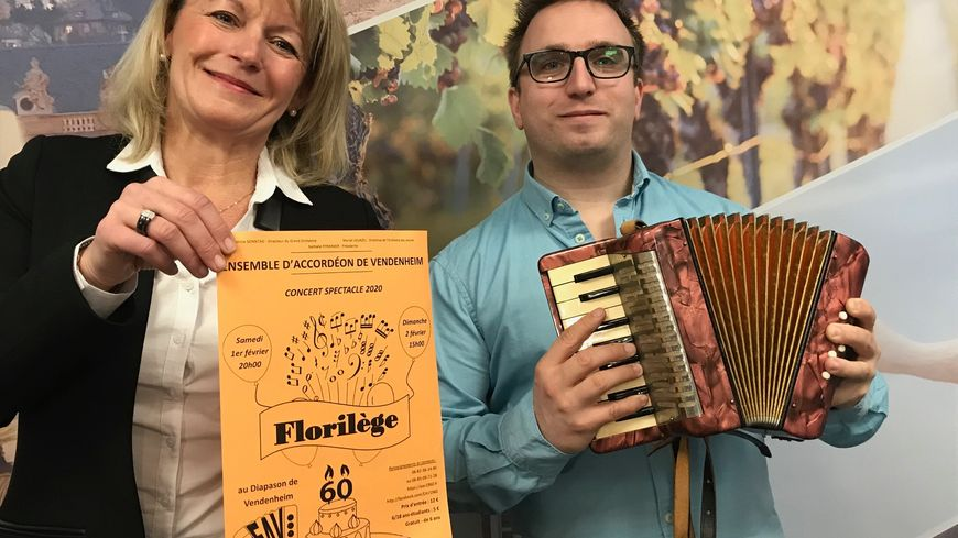 Nathalie Pfrimmer, concert accordéon vendenheim sur france bleu elsass